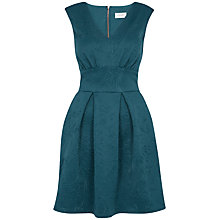 Buy Almari Embossed Scuba Dress, Petrol Online at johnlewis.com