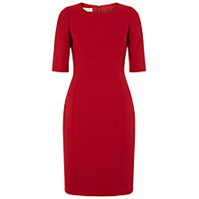 Buy Hobbs Etoile Dress, Pillar Box Red Online at johnlewis.com