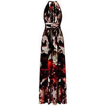 Buy Ariella Fiona Halterneck Maxi Dress, Multi Online at johnlewis.com