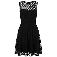 Buy Ariella Libby Crochet Lace Dress, Black Online at johnlewis.com
