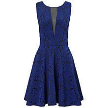 Buy Ariella Lola Jacquard Short Dress, Blue Online at johnlewis.com