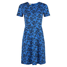 Buy Hobbs Karen Dress, Blue / Black Online at johnlewis.com
