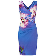 Buy Ariella Sally Print Pencil Dress, Blue Online at johnlewis.com