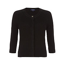 Buy Jigsaw Crew Neck Cashmere Cardigan Online at johnlewis.com