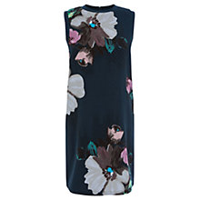Buy Warehouse Oversized Floral Dress, Multi Online at johnlewis.com
