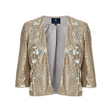 Buy Ariella Sequin Jacket, Gold Online at johnlewis.com