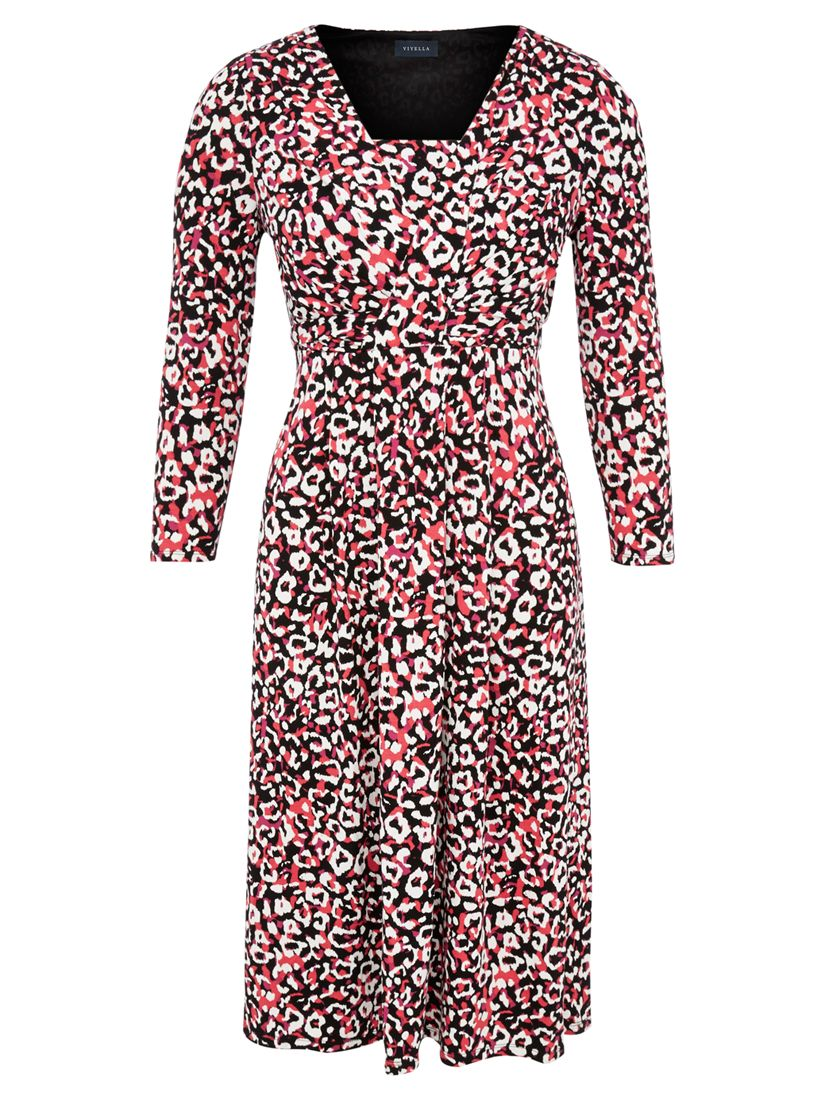 viyella animal print wrap dress multi, viyella, animal, print, wrap, dress, multi, 8|20|18|14|16|12, clearance, womenswear offers, womens dresses offers, women, inactive womenswear, new reductions, womens dresses, special offers, 1615361