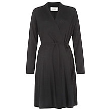 Buy Havren Floaty Long Line Cardigan, Black Online at johnlewis.com