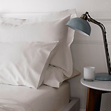 Buy Jigsaw Cashmere Blend Bedding , Antique White Online at johnlewis.com