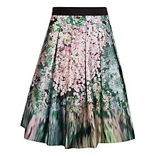 Buy Ted Baker Camouflage Sequin Skirt, Peach Online at johnlewis.com