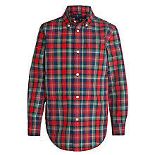 Buy Polo Ralph Lauren Boys' Blake Check Long Sleeve Shirt Online at johnlewis.com