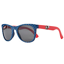 Buy John Lewis Mickey Mouse Wayfarer Sunglasses, Blue/Red Online at johnlewis.com