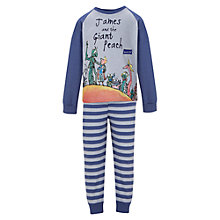 Buy James and the Giant Peach Pyjamas, Blue Online at johnlewis.com