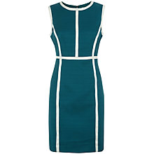 Buy Havren Contrast Seam Dress, Fern Combo Online at johnlewis.com