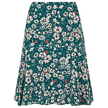 Buy Havren Daisy Printed Skirt, Green Combo Online at johnlewis.com
