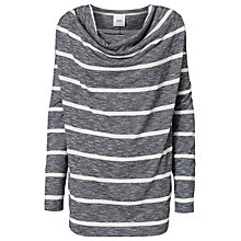 Buy Mamalicious Darla Nell Long Sleeve Maternity Top, Grey Online at johnlewis.com