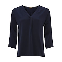 Buy Jaeger V-Neck Tunic Blouse Online at johnlewis.com