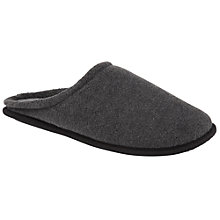 Buy John Lewis Fleece Mule Slippers Online at johnlewis.com