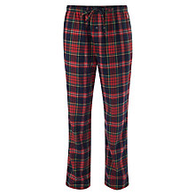 Buy Polo Ralph Lauren Flannel Check Lounge Pants, Red Check Online at johnlewis.com