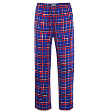Buy Polo Ralph Lauren Check Lounge Pants, Blue/Red Online at johnlewis.com