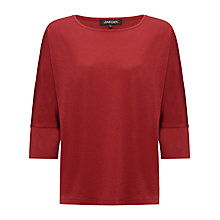 Buy Jaeger Batwing Jersey Top, Winter Berry Online at johnlewis.com