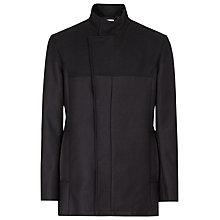Buy Reiss Demetrius Contrast Detail Coat, Navy Online at johnlewis.com