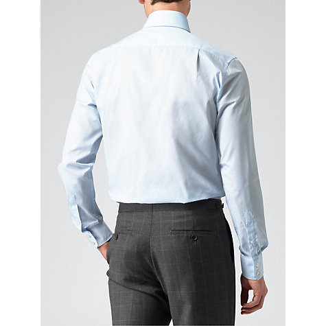 Buy Reiss Columbus Point Collar Long Sleeve Shirt Online at johnlewis.com