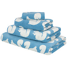 Buy Anorak Kissing Squirrels Towels Online at johnlewis.com