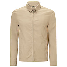 Buy John Lewis Harrington Cotton Jacket, Navy Online at johnlewis.com