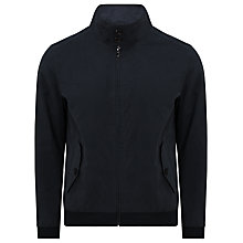 Buy John Lewis Bomber Jacket, Navy Online at johnlewis.com