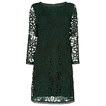 Buy Phase Eight Celeste Crochet Lace Dress, Pine Online at johnlewis.com
