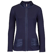 Buy Betty Barclay Jersey Jacket, Dark Blue Online at johnlewis.com