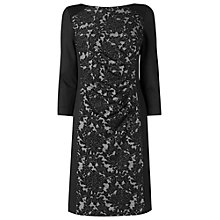 Buy Phase Eight Dawn Lace Dress, Black Online at johnlewis.com