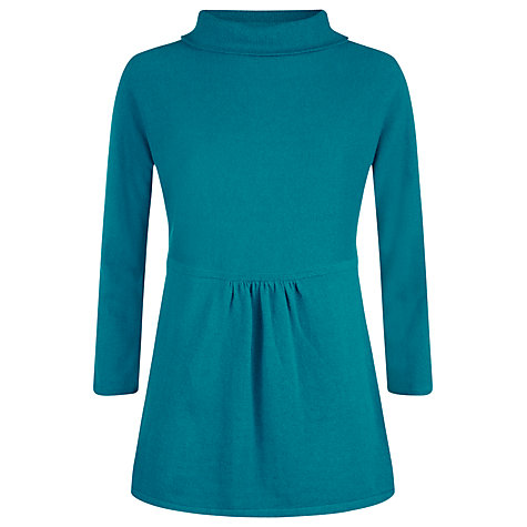 Buy Havren Wide Roll Neck Jumper, Teal Online at johnlewis.com