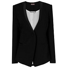 Buy Phase Eight Geri Jacket, Black Online at johnlewis.com