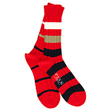 Buy Thomas Pink Mixed Stripe Socks Online at johnlewis.com