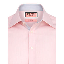Buy Thomas Pink Webb Cotton Shirt, White / Red Online at johnlewis.com