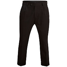 Buy Selected Homme Crop Five York Trousers, Black Online at johnlewis.com