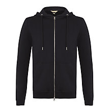 Buy Selected Homme Breezy Zip Hoodie, Black Online at johnlewis.com