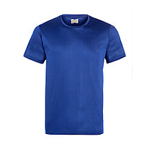 Buy Selected Homme Aljon Knitted T-Shirt, Blue Depths Online at johnlewis.com