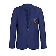 Buy Goffs School Boys' Blazer, Royal Blue Online at johnlewis.com