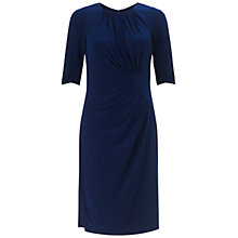 Buy Adrianna Papell Draping Jersey Dress, Ink Online at johnlewis.com