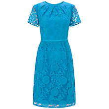 Buy Adrianna Papell Pleated Lace Dress, Stream Online at johnlewis.com