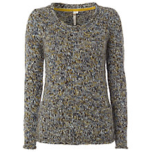 Buy White Stuff Hey You Jumper, Blue Mist Online at johnlewis.com