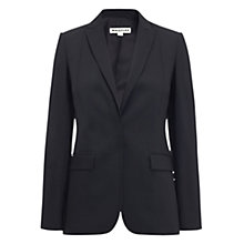 Buy Whistles Campbell Jacket, Black Online at johnlewis.com