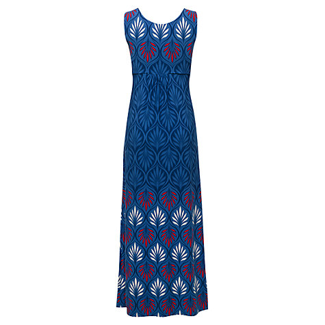 Buy East Nordic Summer Maxi Dress, Navy Online at johnlewis.com