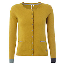 Buy White Stuff Dolly Doll Cardigan, Stepney Yellow Online at johnlewis.com