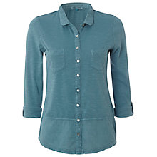 Buy White Stuff SS Dorothea Shirt, Blue Mist Online at johnlewis.com