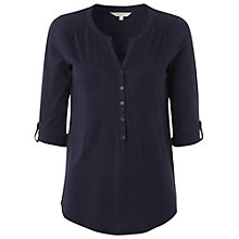 Buy White Stuff Plain Raj Shirt, London Blue Online at johnlewis.com