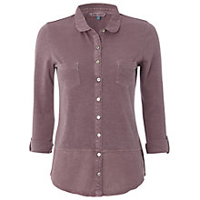 Buy White Stuff Dorothea Shirt, Dusty Fig Online at johnlewis.com
